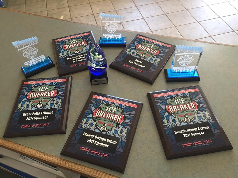 A few awards made for the Ice Breaker event last weekend!